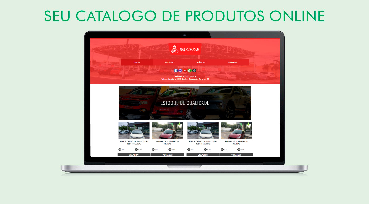 Portal para divulgar minha empresa na internet